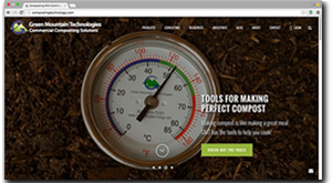 Green Mountain Technologies Website Design - Bainbridge Island