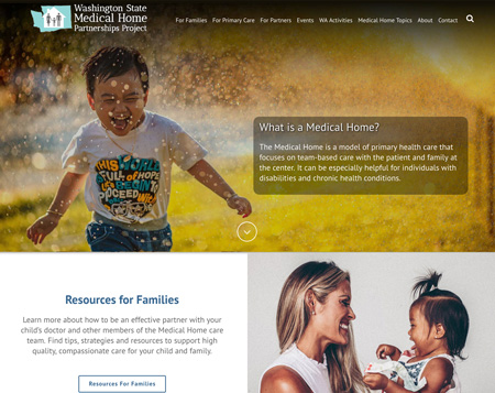 Medical Home WordPress Website Design