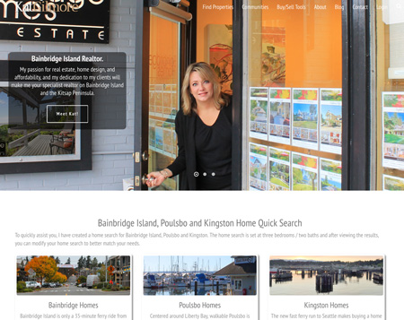 Real Estate Website Design WordPress