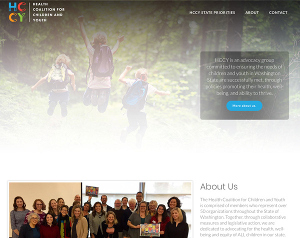 Non-Profit Organization WordPress Website Design